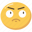 annoy, annoyed, emoji, emoticon, from, frustrated