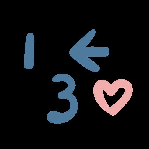 emoji, emoticon, heart, kiss icon