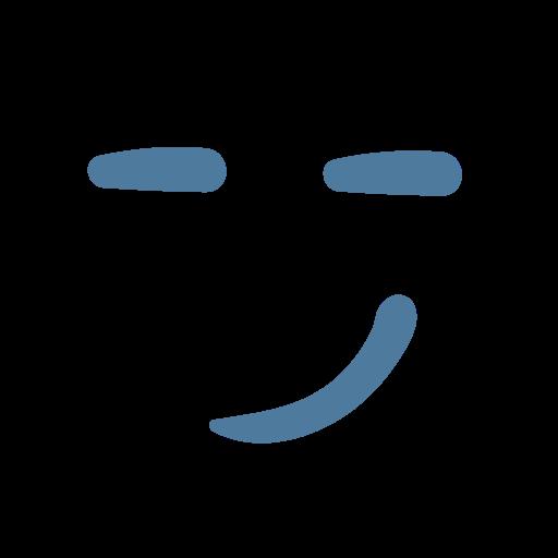 emoji, emoticon, emotion, happy, positive, smile, wink icon