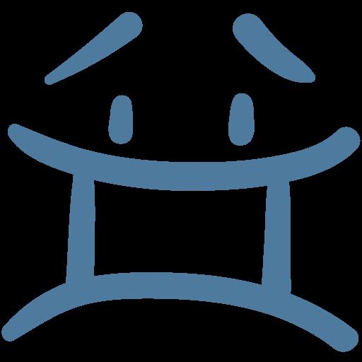 emoji, emoticon, sad, surprised, upset icon