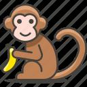 animal, monkey, wild icon