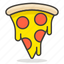 food, pizza, restaurant icon