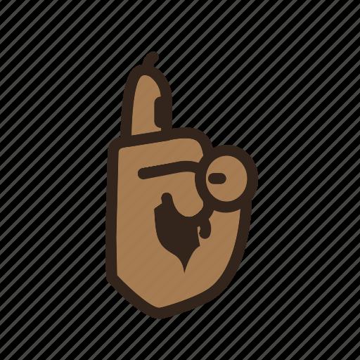 Bear, color, emoji, finger, gomti, hand, shee icon - Download on Iconfinder