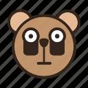 bear, color, darkcircle, emoji, fatigue, gomti, tired