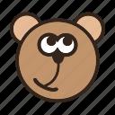 bear, color, emoji, gomti, irrelevant, it wasn't me icon