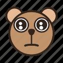 bear, color, emoji, gomti, shrek, shrek cat icon