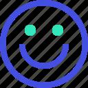 avatar, emoji, emotion, emotional, face, happy, smile icon