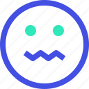 avatar, emoji, emotion, emotional, face, sick icon