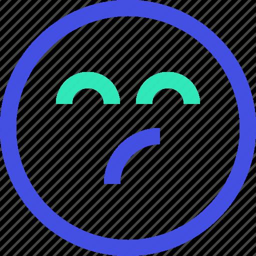 avatar, emoji, emotion, face, smile icon