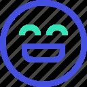 avatar, emoji, emotion, face, happy icon