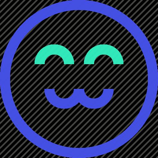 avatar, emoji, emotion, emotional, face, happy icon