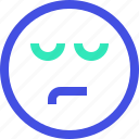 avatar, emoji, emotion, face, sad icon