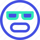 angry, avatar, emoji, emotion, emotional, face icon