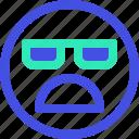 avatar, bored, emoji, emotion, emotional, face icon