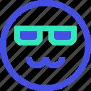 avatar, emoji, emotion, emotional, face, smile icon