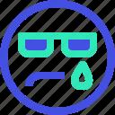 avatar, emoji, emotion, emotional, face, surprised icon