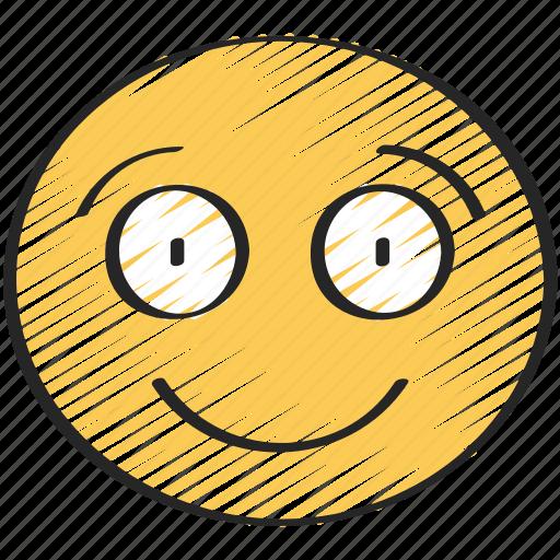 big, emoji, emoticon, happy, smile, smiling icon