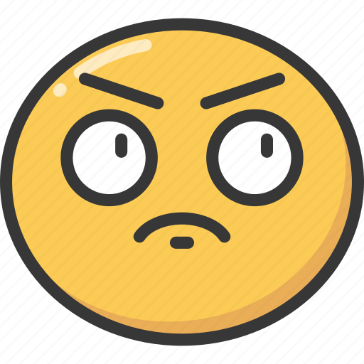 annoy, annoyed, emoji, emoticon, from, frustrated icon