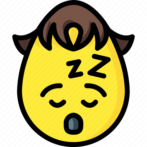 boy, emojis, knackered, sleep, sleeping, tired icon