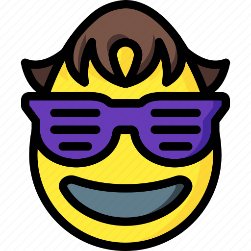 boy, calvin, cool, cowabunga, emojis, harris, shades icon