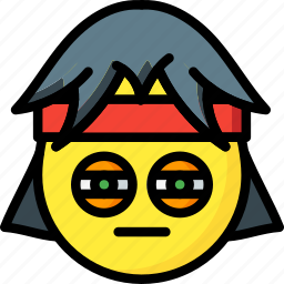 emojis, emotion, rock, rocker, smiley, squint icon