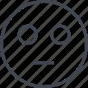 emoji, emotion, emotionless, face