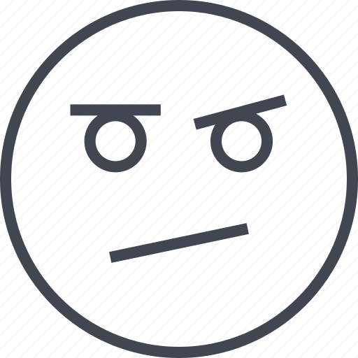 Angry, emoji, face, sad icon - Download on Iconfinder