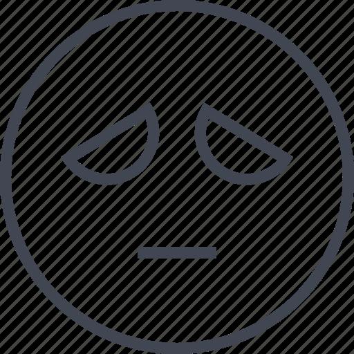emoji, face, sad, saden, sadness icon