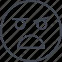 emoji, face, scream, screamming, yello icon