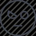 emoji, face, wink, winker icon