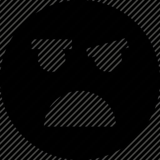 complaint, emotion, face, faces icon