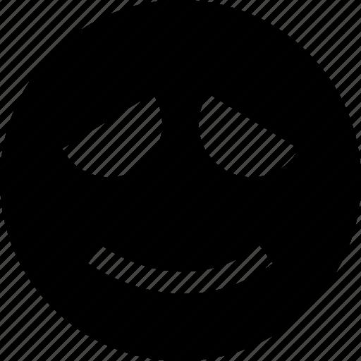 emotion, face, faces, sad, smile icon