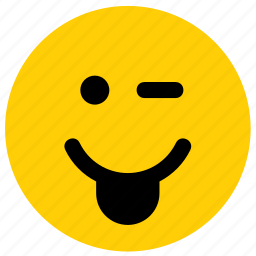 emoji, emoticon, face, stick, sticking out, tongue icon