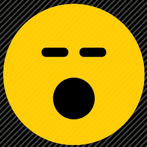 emoji, emoticon, face, shock, shocked, surprise icon