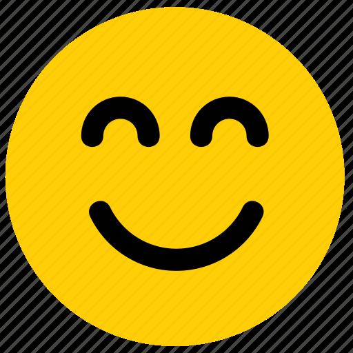 emoji, emoticon, face, happy, smile, smiley, smilinig icon