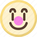 clown, emoji icon