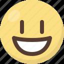 contented, emoji icon
