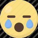 crying, emoji icon