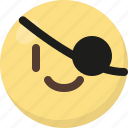 emoji, pirate icon