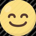 emoji, satisfied icon