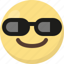 emoji, sunglasses