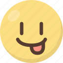 emoji, tongue icon