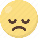 emoji, upset icon