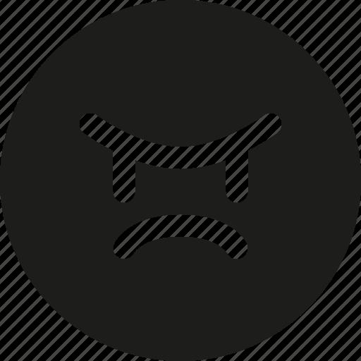 angry, emoji icon
