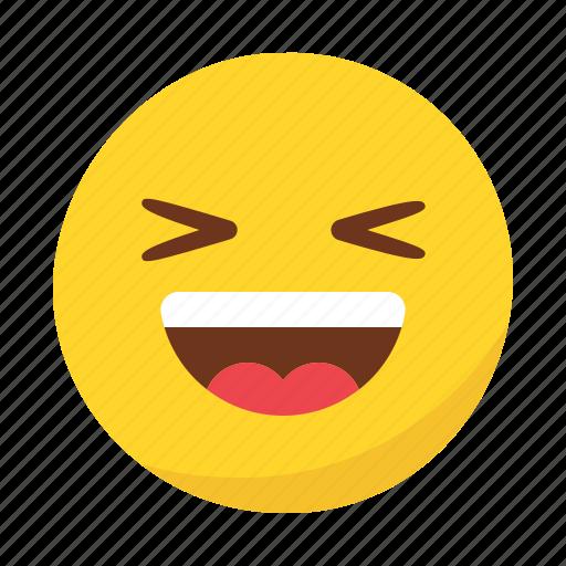 emoji, emoticon, happy, smile icon
