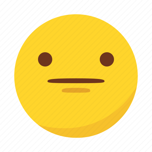 emoji, emoticon, reactionless icon