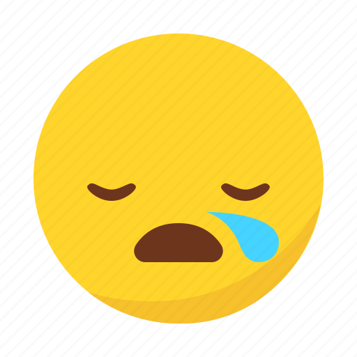emoji, emoticon, sleep, sleeping icon