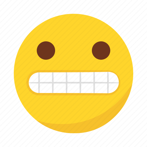 emoji, emoticon, fake, happy, smile icon