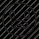 emoji, emoticon, surprised