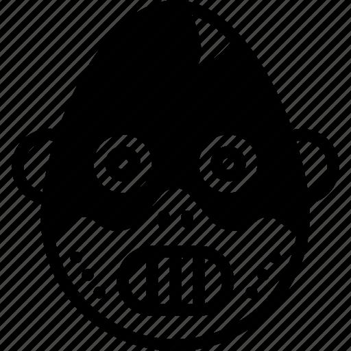 Emotion, face, emojis, smiley, hannibal icon